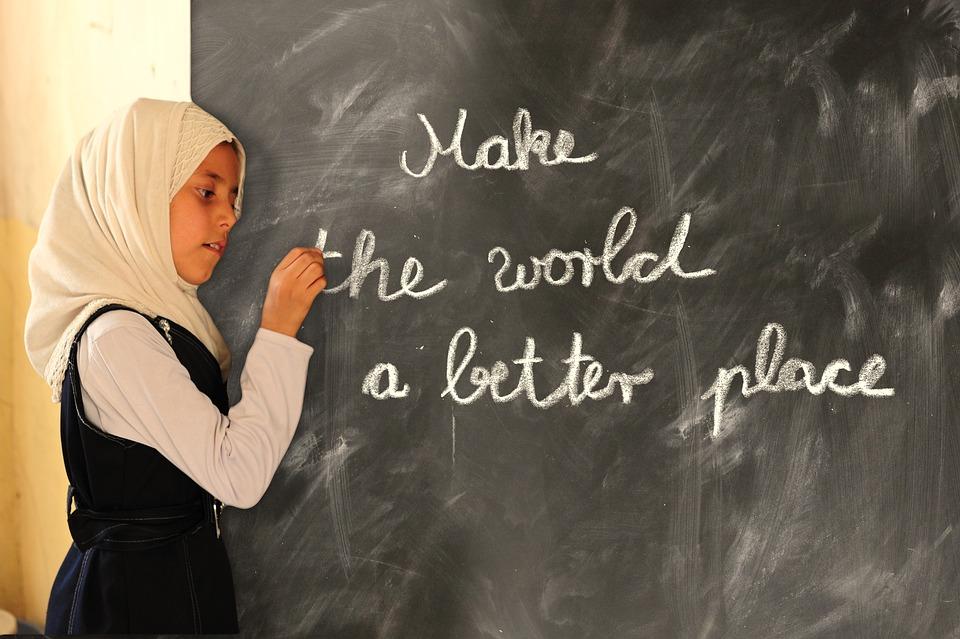 School, Board, World, Better, Place, Saying, Learn