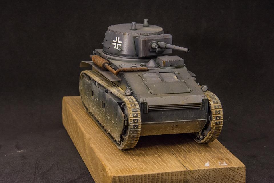 Scale Model, Tank, Leichttraktor, Model
