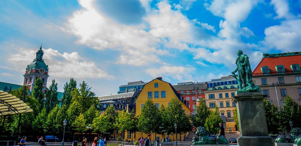 Stockholm, Sweden, Scandinavia, Architecture, Skyline