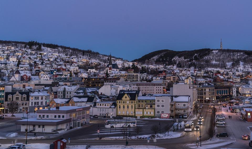 Norway, Coast, Tromso, Architecture, Scandinavia