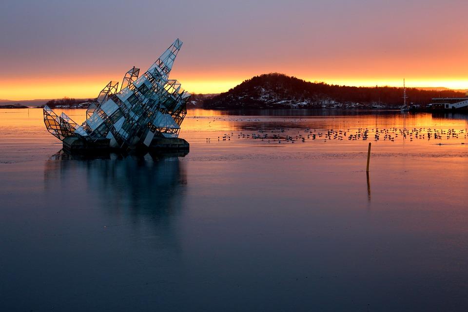 Oslo, Norway, Oslofjord, Port, City, Scandinavia