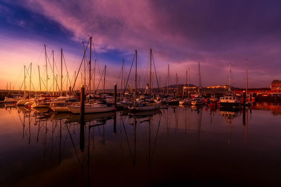 Scarborough, North Yorkshire, After A Storm, Harbour