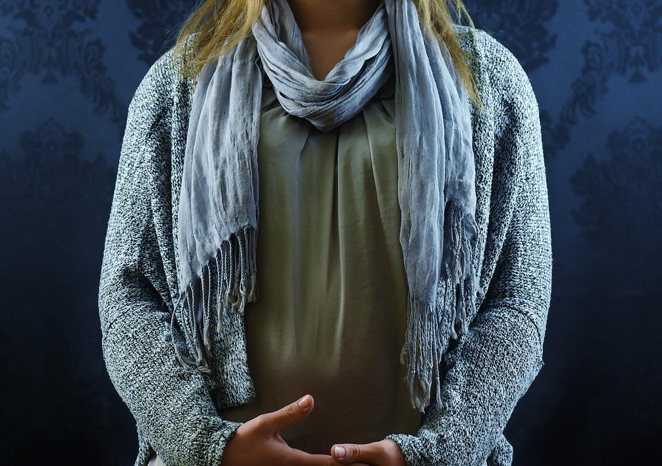 Woman, Fashion, Scarf, Knit Vest, Clothing, Fashionable