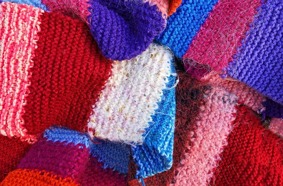 Free photo Scarf Woolen Woolen Scarf Knitted Knitwear Wool - Max Pixel