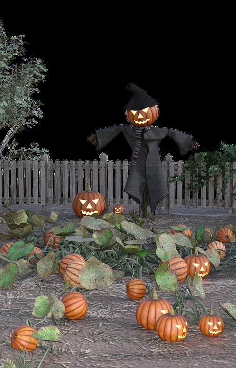 Pumpkin, Halloween, Scarecrow, Creepy, Scary