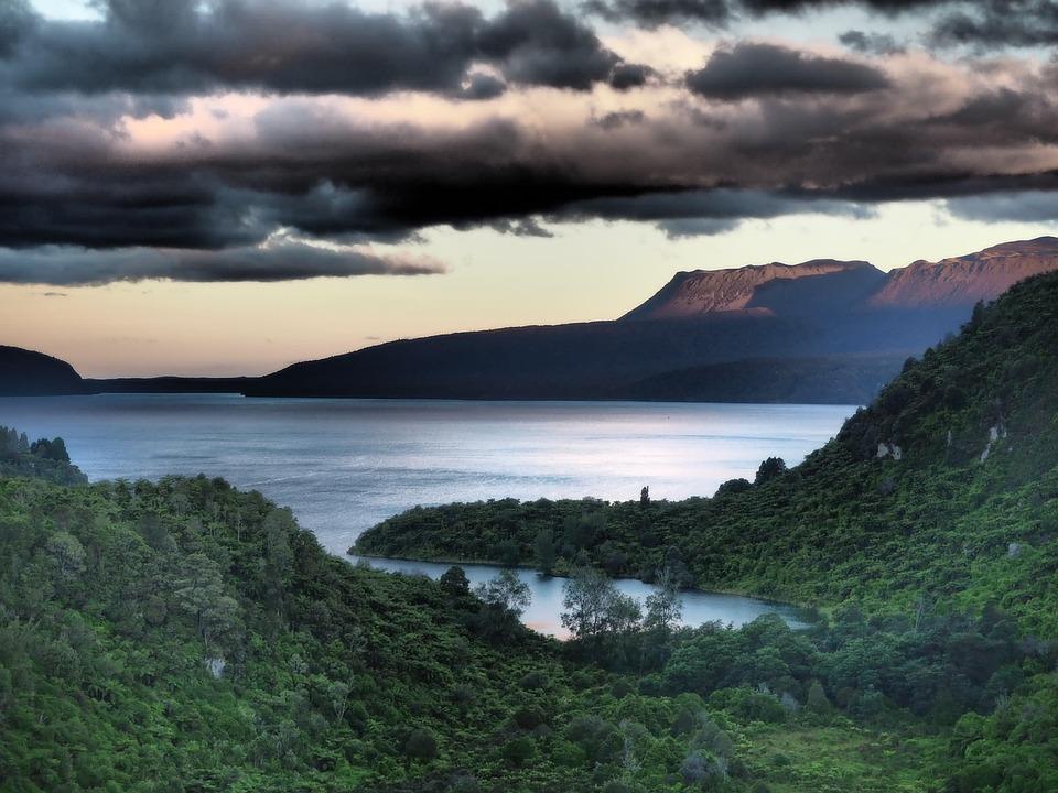 New Zealand, Landscape, Sky, Nature, Scenery, Blue