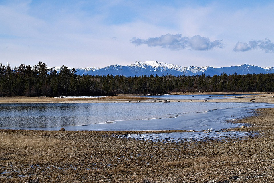 Cariboo, British Columbia, Canada, Pond, Scenery