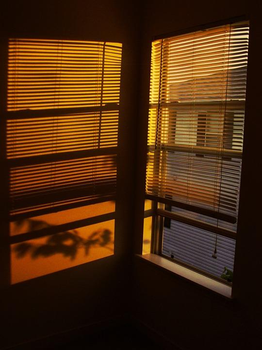 Sunset, Window, Sunlight, Window View, Warm, Scenery