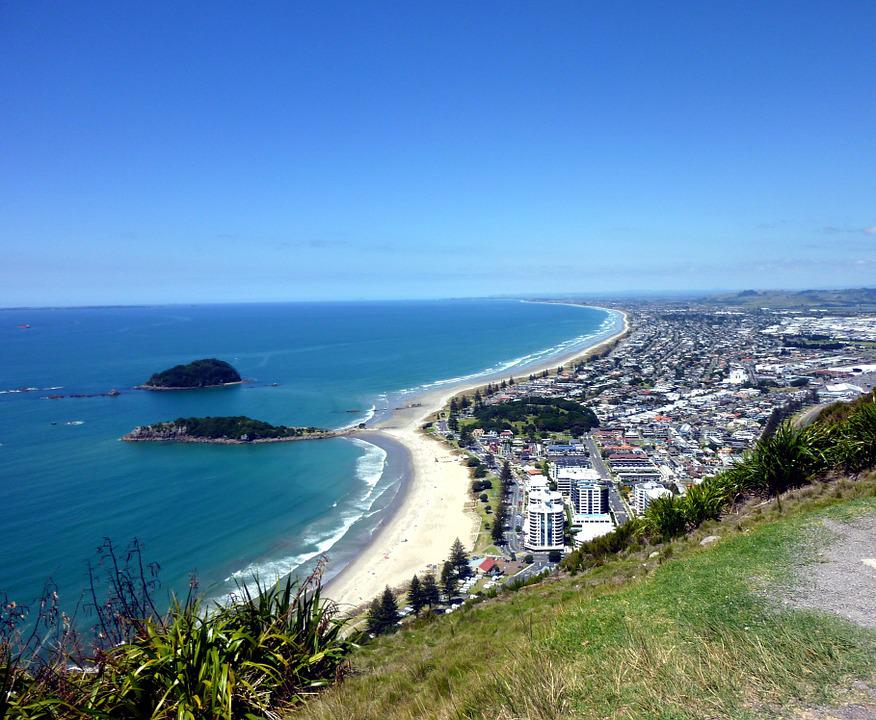Tauranga Bay, New Zealand, Bay, Scenery, Ocean, Sea