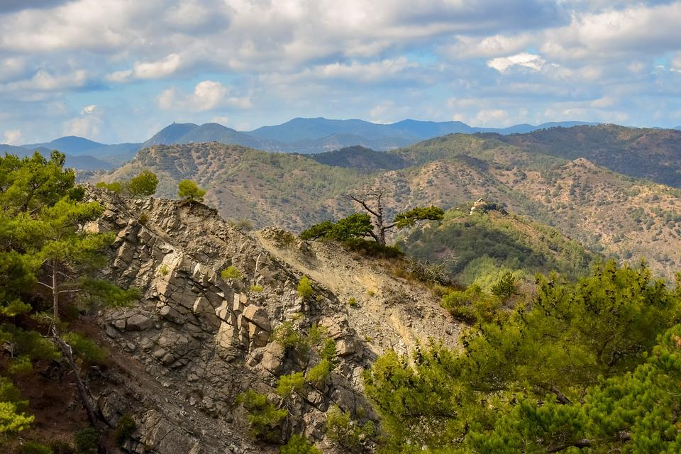 Troodos Mountain, Range, Scenery, Mountains, Wilderness