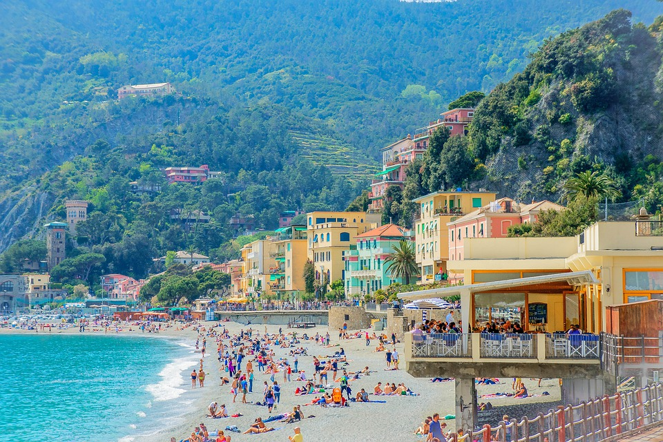Cinque Terre, Italy, Beach, Amalfi Coast, Scenic