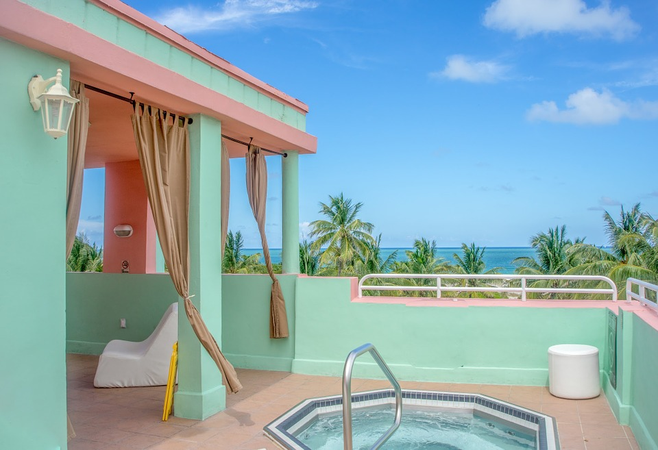 South Beach, Florida, View, Scenic, Ocean, Vacation