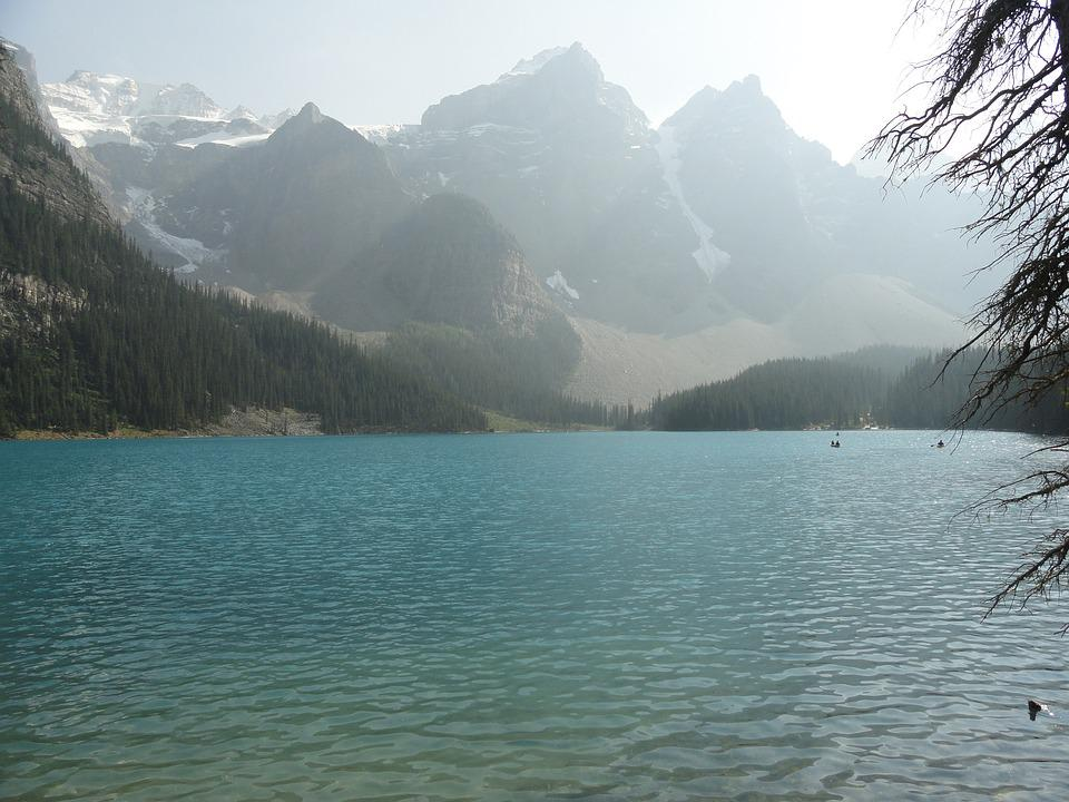 Canada, Mountains, Lake, Nature, Landscape, Scenic