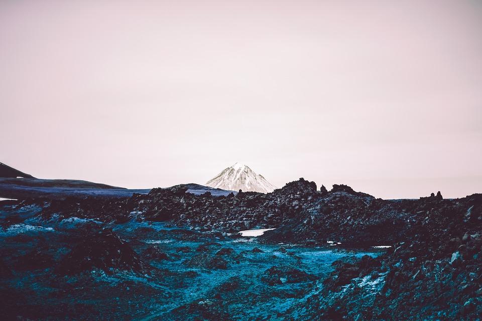 Plain, Mountain, Mountains, Landscape, Clouds, Scenic