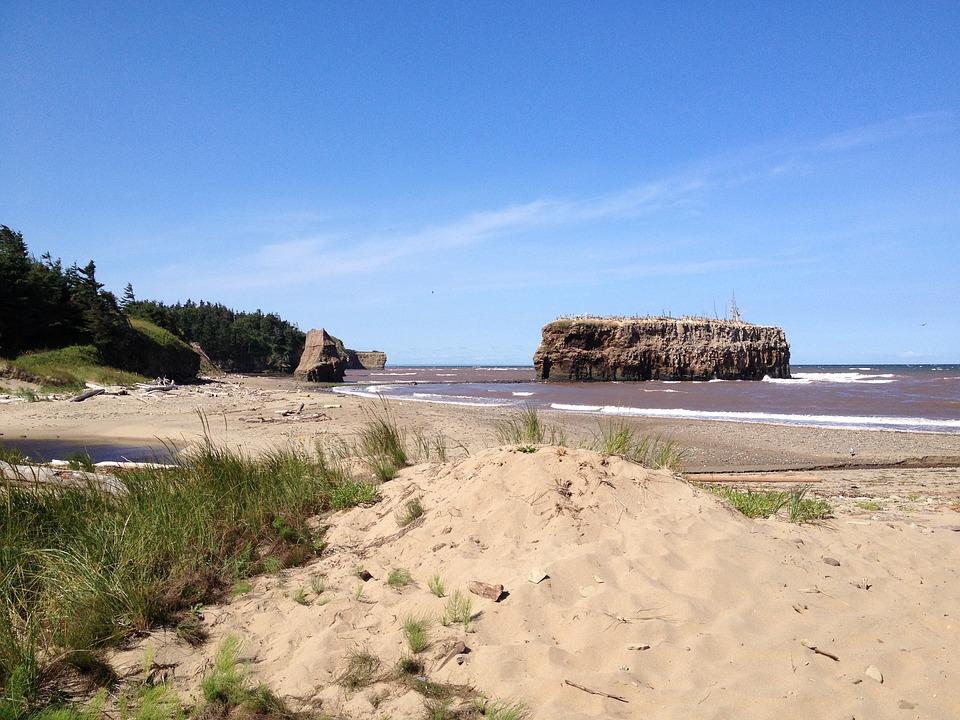New Brunswick, Coast, Atlantic, Scenic, Water, Nature