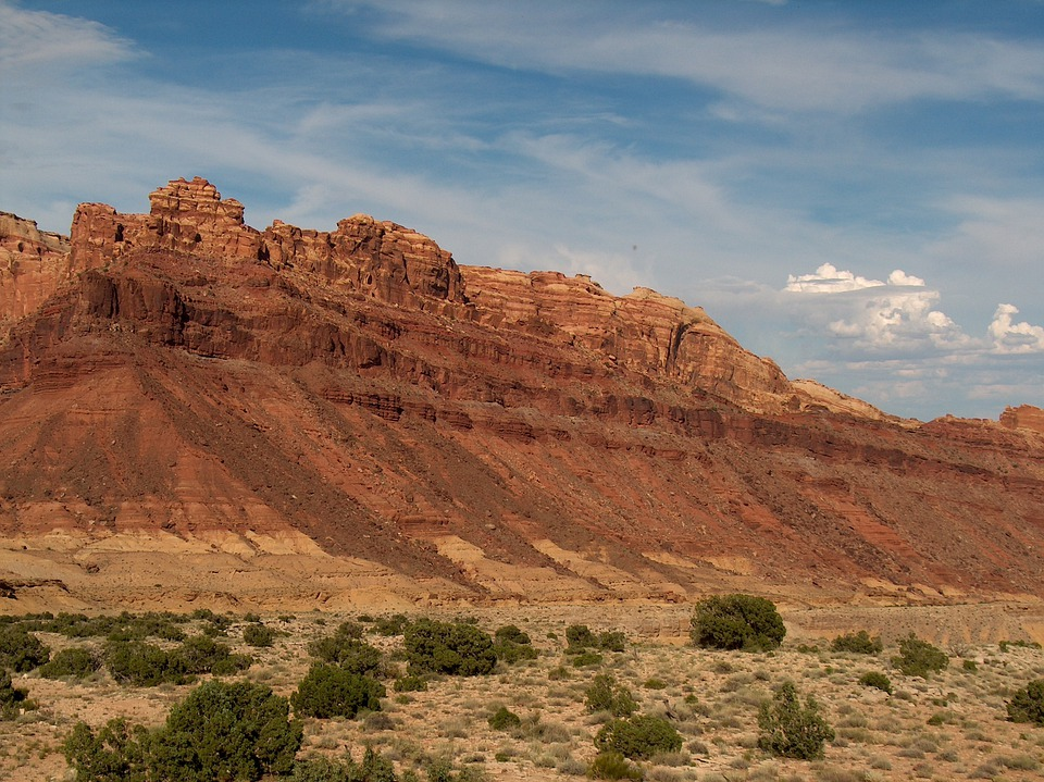 Utah, Mountains, Scenic, Red Rocks, Usa, Landscape