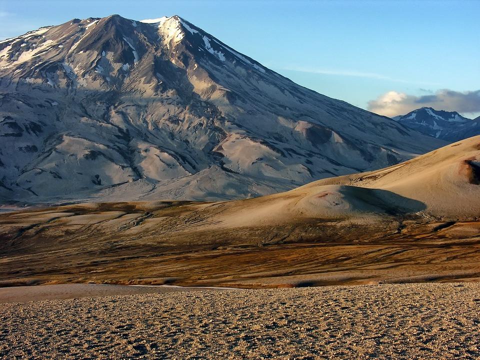 Alaska, Landscape, Scenic, Mountains, Snow, Sky, Clouds