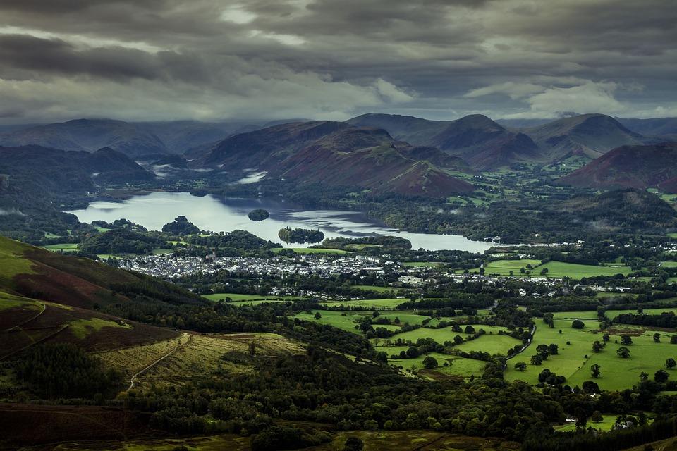 Keswick, Lake District, England, Uk, Scenic, Cumbria