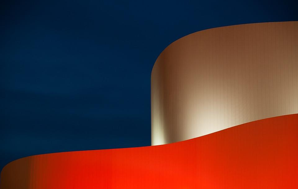 Düsseldorf, Germany, Architecture, Schauspielhaus