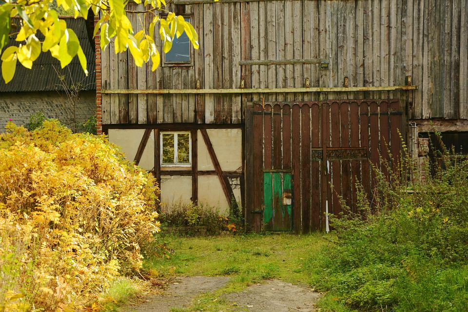 Barn, Farm, Old, Lapsed, Agriculture, Scheuer, Truss