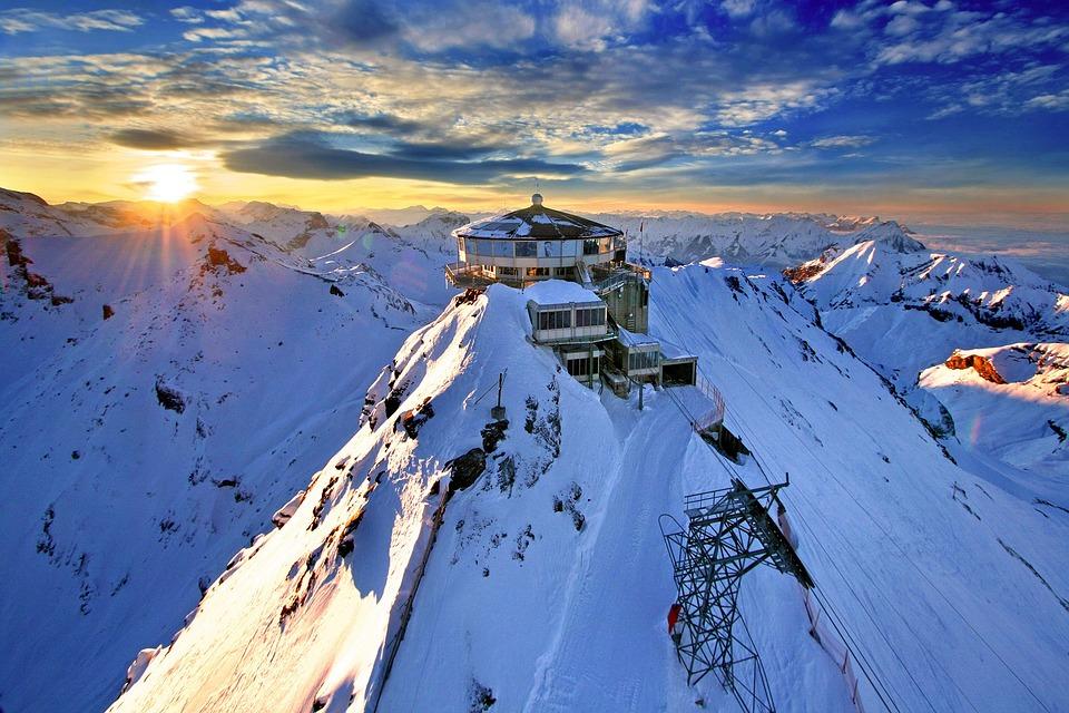 Schilthorn, Mountain Station, Switzerland, Alpine