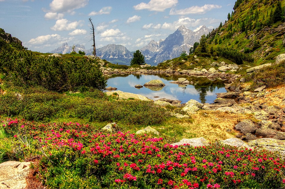 Gasselsee, Schladming, Bergsee, Nature, Blue, Lake