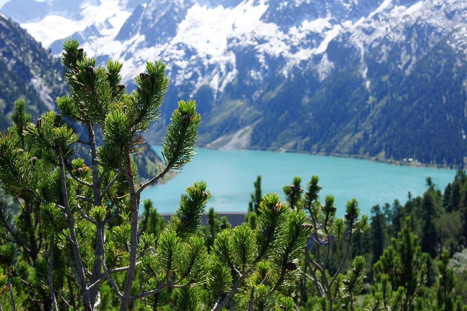Zillertal, Schlegeis, Mountains, Alpine, Nature