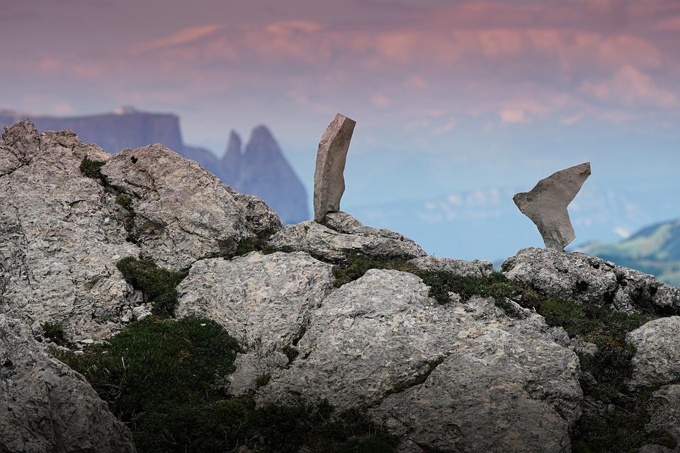 Mountain, Sassi, Sciliar, Schler, Alps, Balance