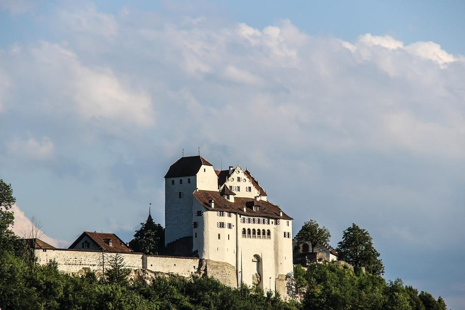 Schloss Wildegg, Wildegg, Castle, Aargau, Switzerland