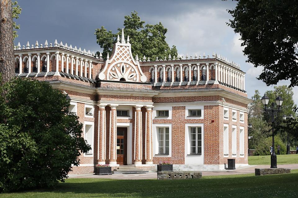 Tsaritsyno, Park, Castle Park, Schlossgarten