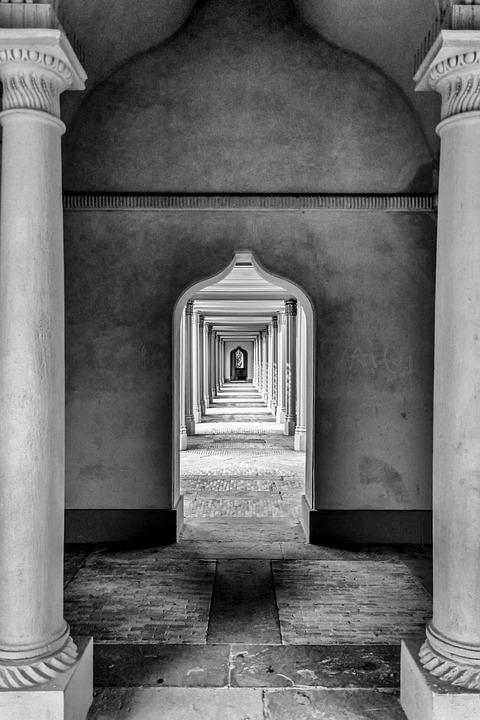 Schwetzingen, Schlosssgarten, Castle, Mosque