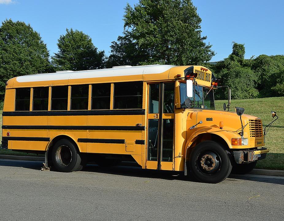 School Bus, America, Yellow