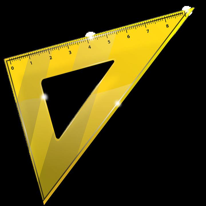 Line, School, Triangle