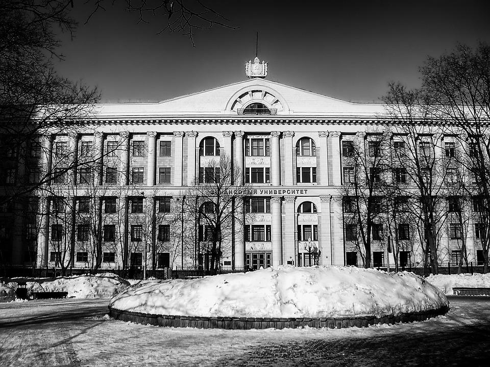 Russia, Finance University, School, Building