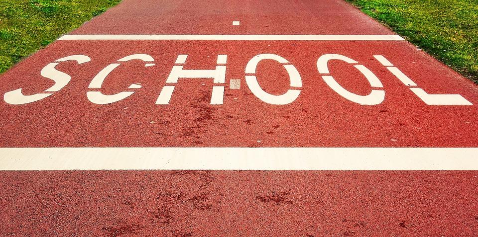 School, Word, Text, Street, Traffic, Alert