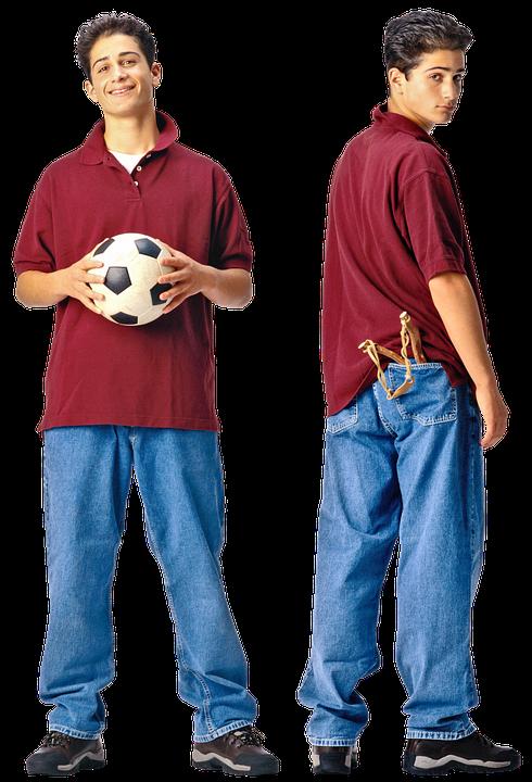 Boy, Schoolboy, Guy, Smile, Young, Soccer Ball