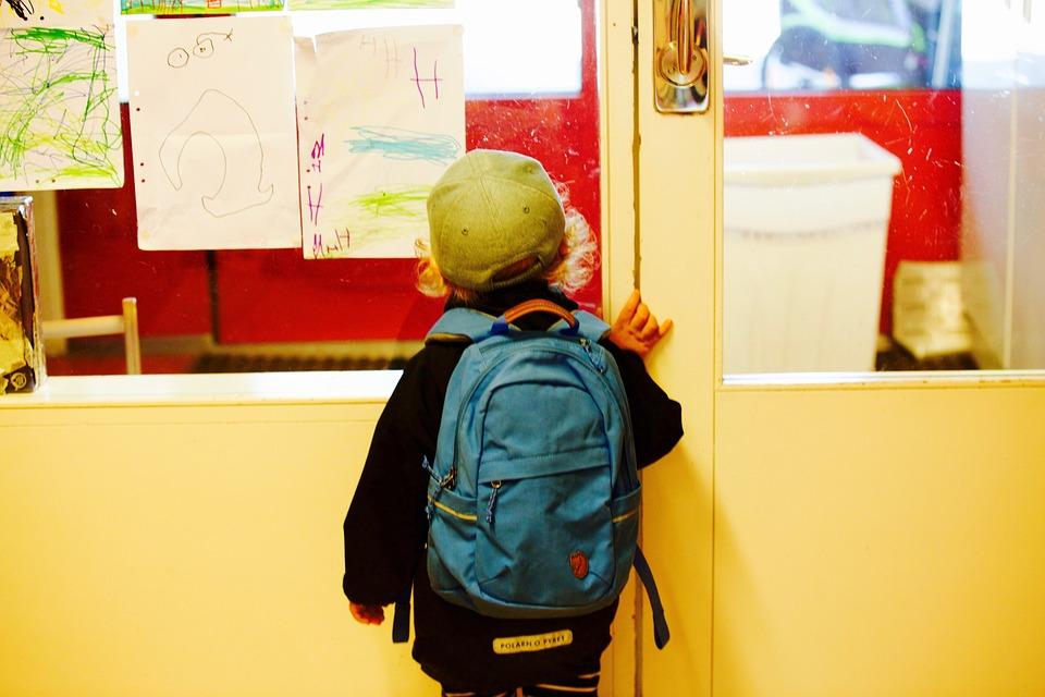 Entry To School, Schoolboy, School, Primary School