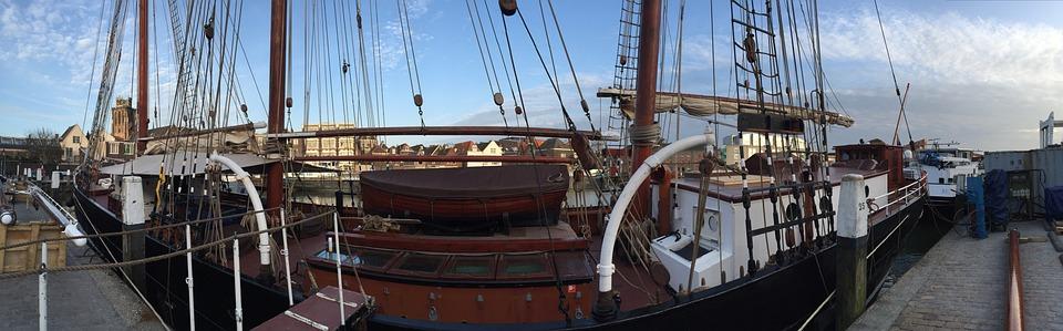 Ship, Schooner, Sailing, World Tour