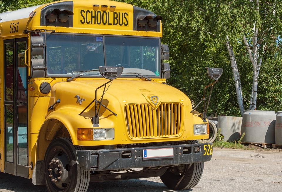 Bus, School Bus, Yellow, Schulbeginn, Vehicle