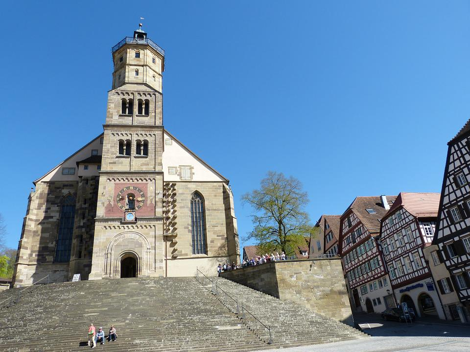 Schwäbisch Hall, Hall, Old Town, Middle Ages, City