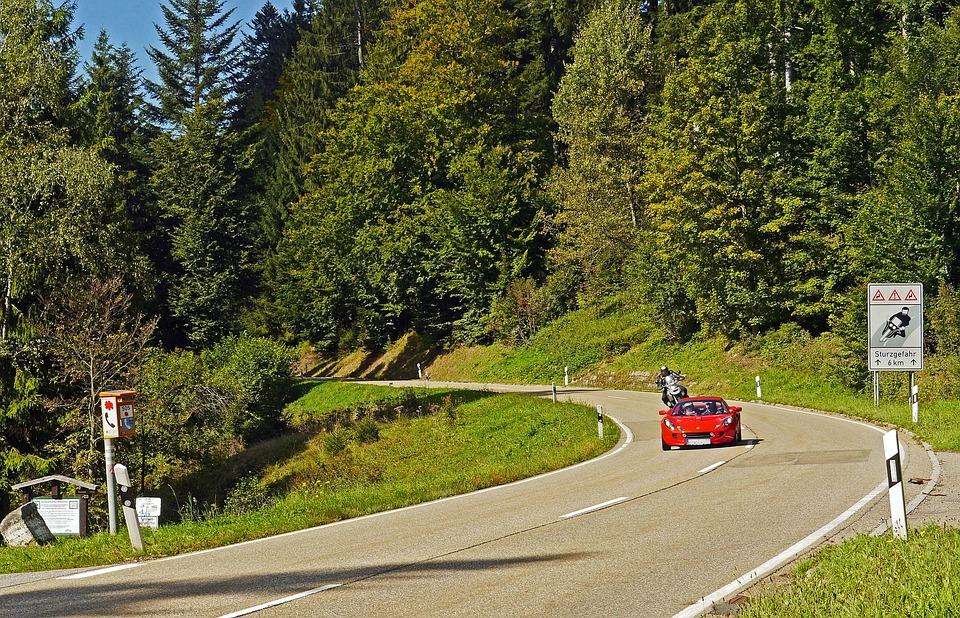 Schwarzwaldhochstraße, Sports Car, Motorcycle, Sporty