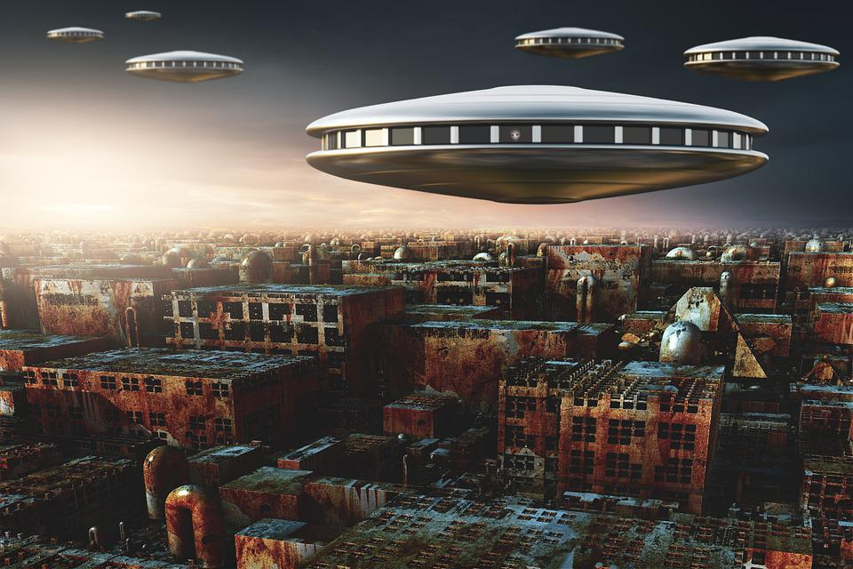 Ufos, Spaceships, Sci-fi, Science Fiction