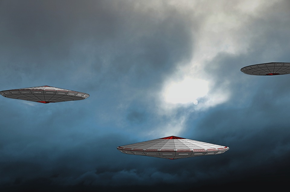 Ufo, Spaceship, Science Fiction