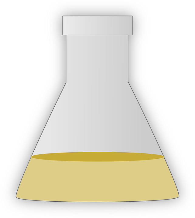 Flask, Apparatus, Biology, Chemistry, Science, Liquid