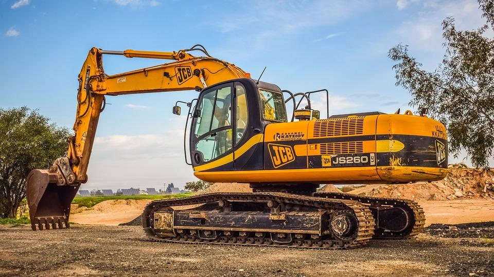 Machine, Heavy, Scoop, Industry, Equipment, Excavator