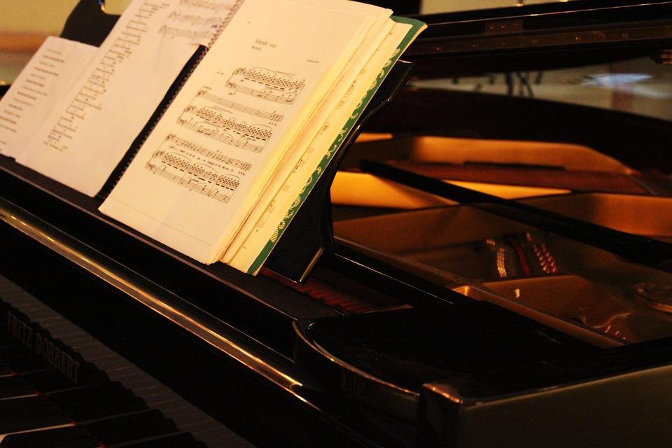 Music, Piano, Score, Art