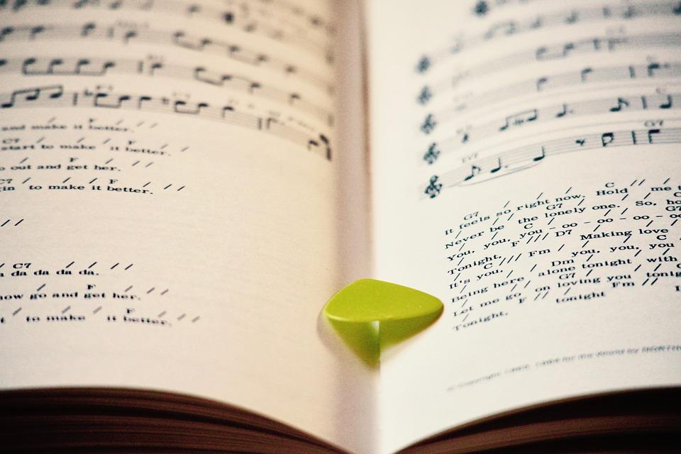 Music, Books, Scores, Musical Notes, Pentagram, Note