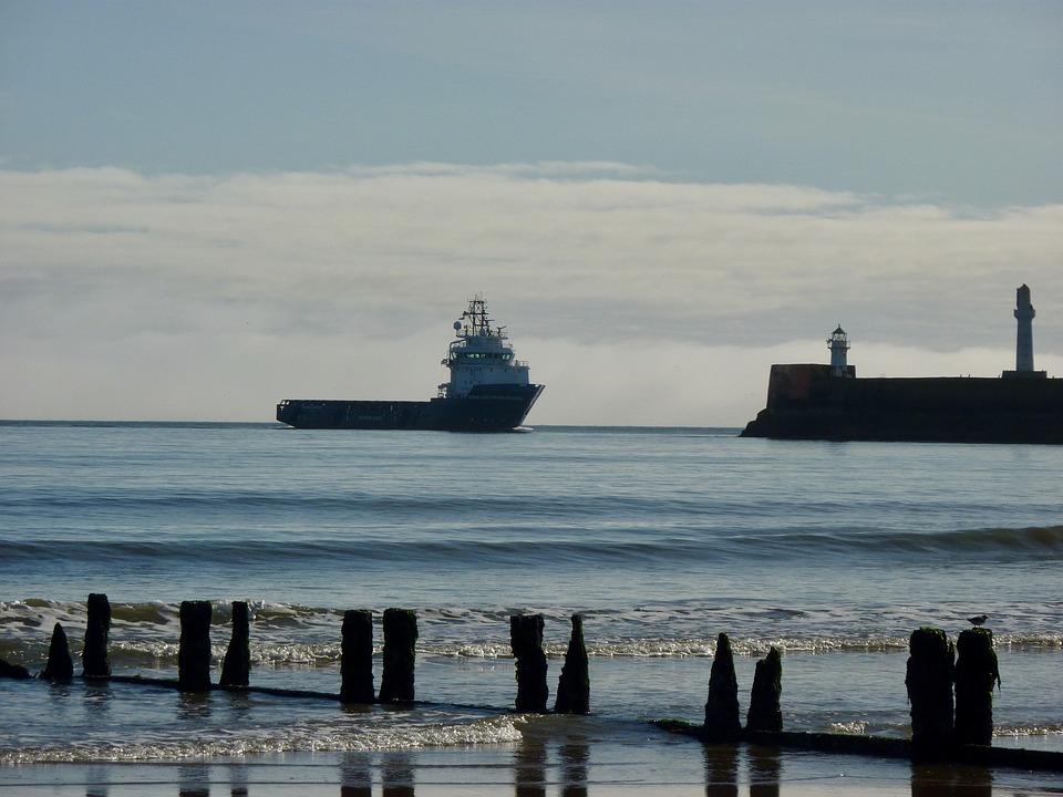 Scotland, Aberdeen, Oil Gas, Platform Supply Vessel