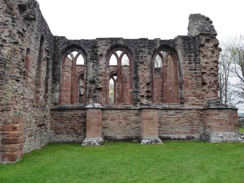Church Ruins, Scotland, Decay, Architecture, Ruin