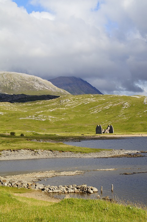 Scotland, Highlands And Islands, Hole, Landscape